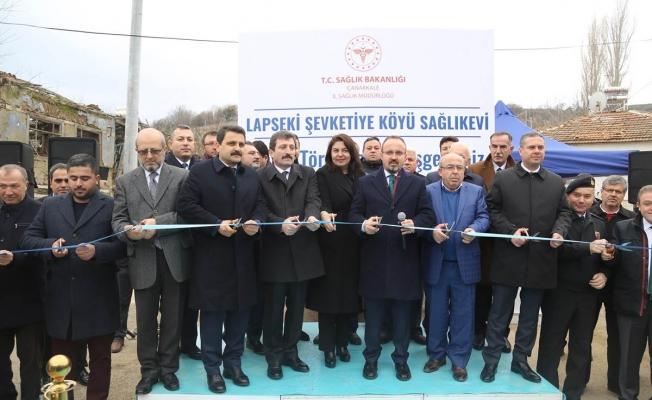 Sağlık Evi açılışı törenle gerçekleştirildi