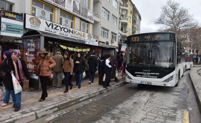 Toplu taşımada rekor günü