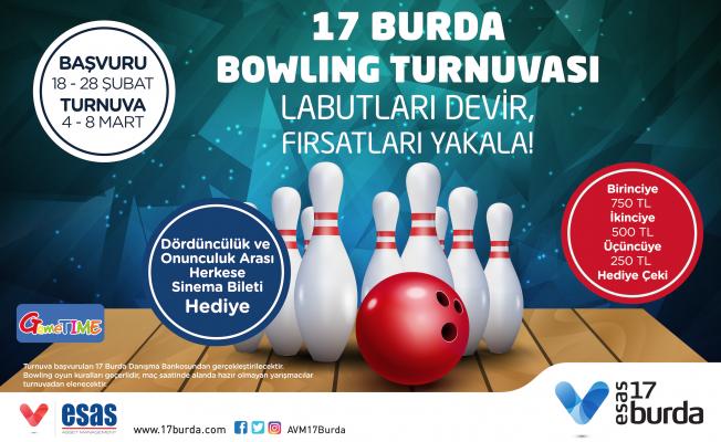 17 Burda'da Bowling Turnuvası heyecanı