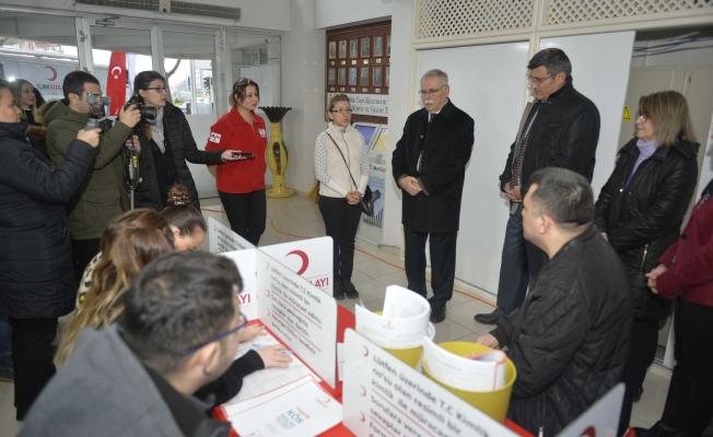 Çanakkale Belediyesi'nden anlamlı bağış