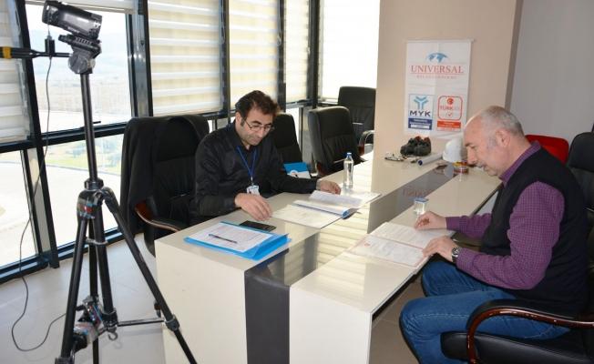 ÇTSO'da mesleki yeterlilik sınavı