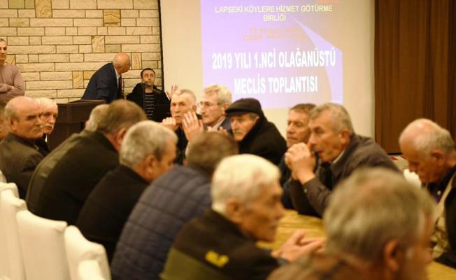 Hizmet Götürme Birliği olağan üstü toplandı