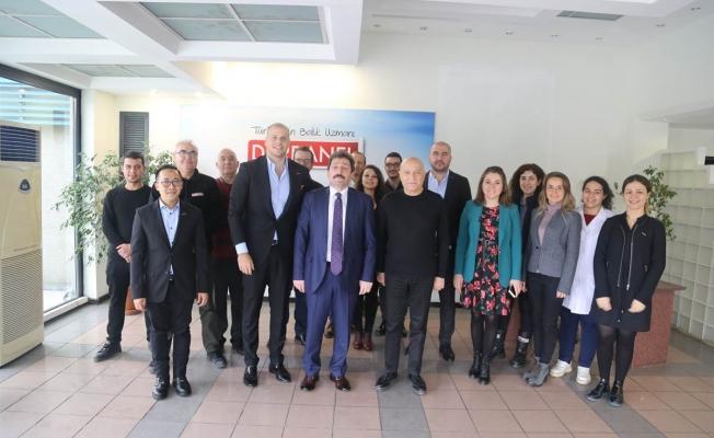 Tavlı'dan Dardanel üretim tesislerini ziyaret