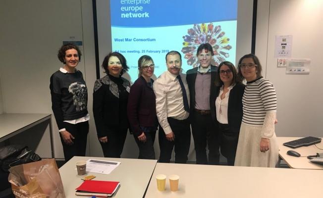 Üyelerimizi Avrupa işletmeler ağına katmak istiyoruz