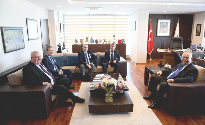 SMMMO'dan Başkan Gökhan'a ziyaret