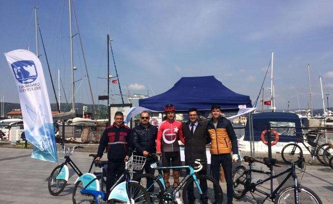 Bisiklet Turu'nda ÇABİS de tanıtıldı