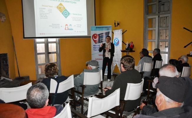 Bozcaada'da istihdam seferberliği toplantısı