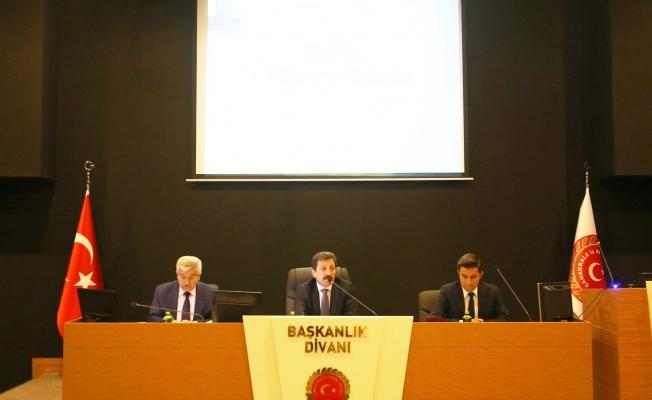 Çanakkale yatırımları ele alındı