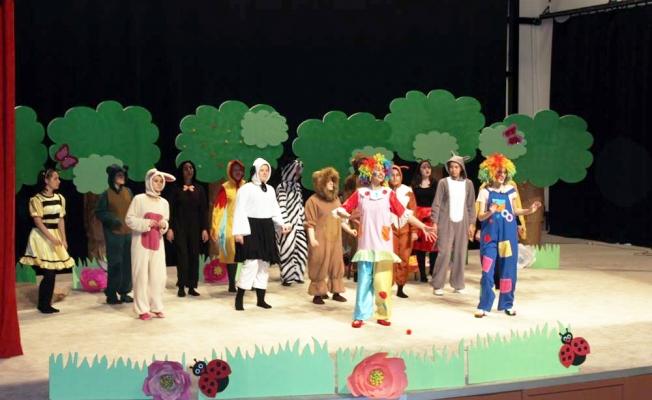 Çan'da çocuk tiyatrosu