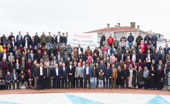 Lapseki'de İlyas köylüler buluşması