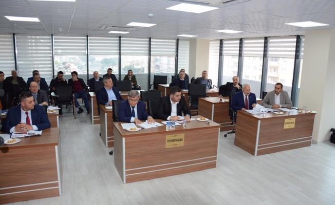 Lapseki'de ilk meclis toplantısı