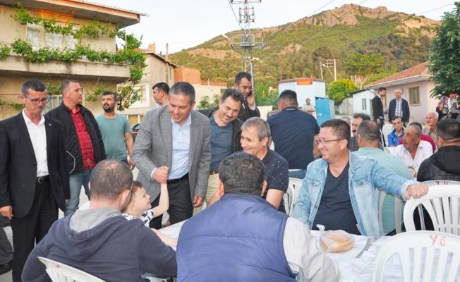 AK Parti heyeti Saraycık Köyü'nde