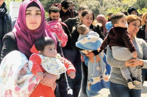 Beş bin Suriyeli Çanakkale'de!