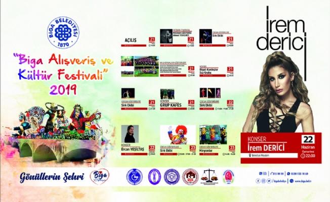 Biga'da festival heyecanı (Video)