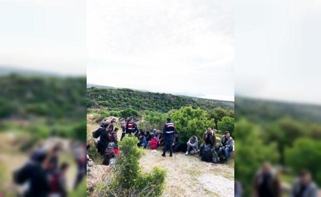 Çanakkale'de 22 düzensiz göçmen yakalandı