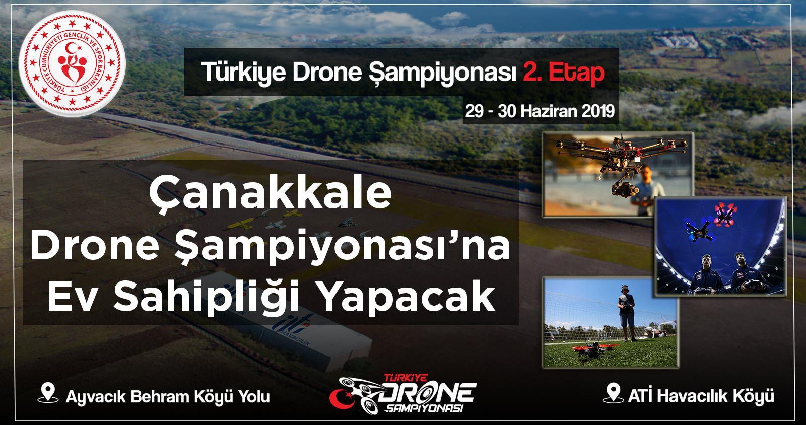 Dünya Drone Kupası'nda yarışacaklar
