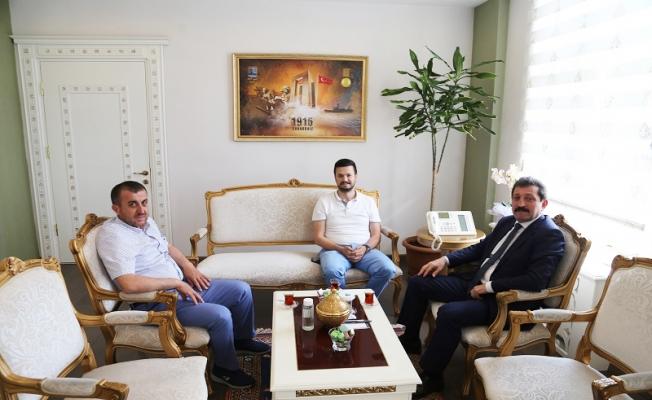 İl Genel Meclis Üyelerinden Vali Tavlı'ya ziyaret