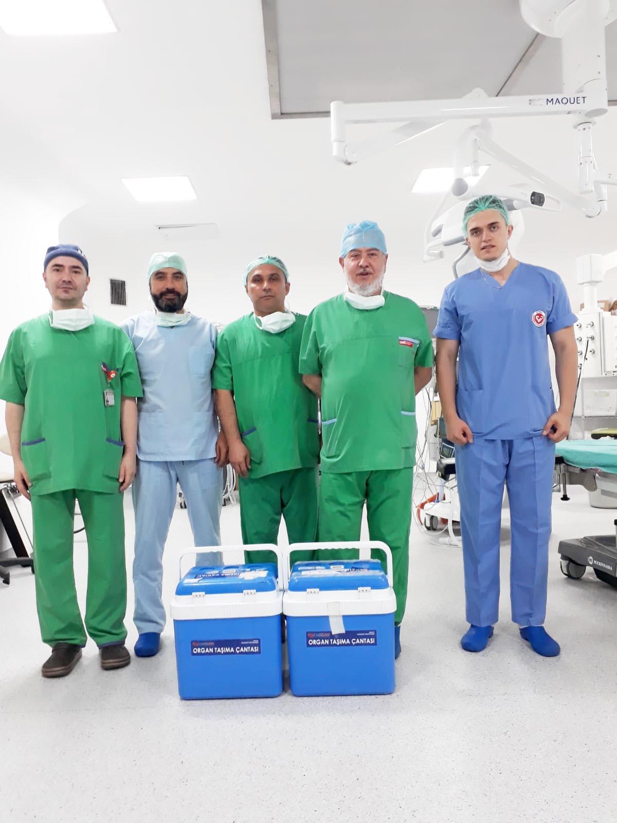 Şehidin Organları Üç Kişiye Hayat Verecek