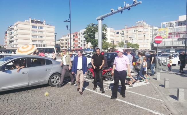 Vali Tavlı Trafik Tedbirlerini Denetledi