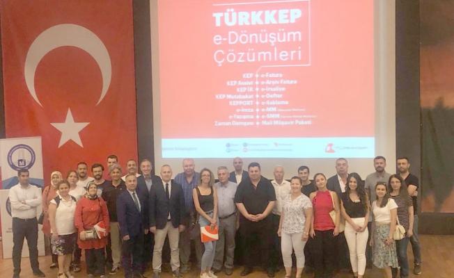 TÜRKKEP'ten Çanakkale'deki şirketlere e-dönüşüm çağrısı