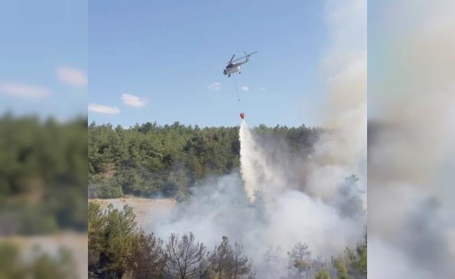 AFAD'dan yangın açıklaması