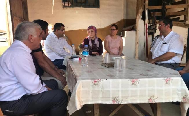 Başkan Öz'den başsağlığı ziyaretleri