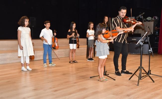 Biga belediyesi yaz kurslarına şenlikli veda