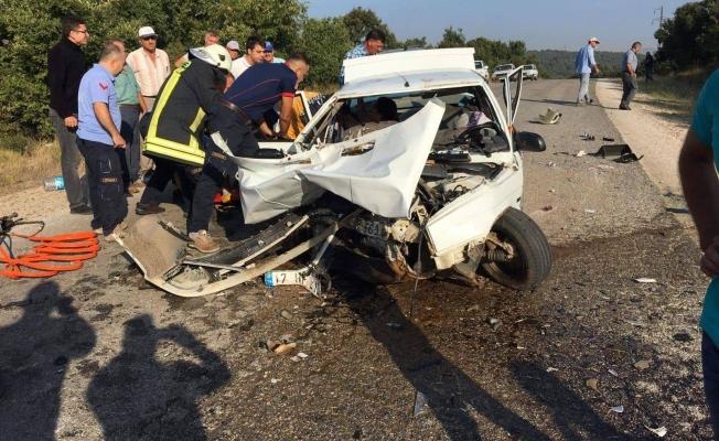 Çan'da feci kaza: 2 ölü!