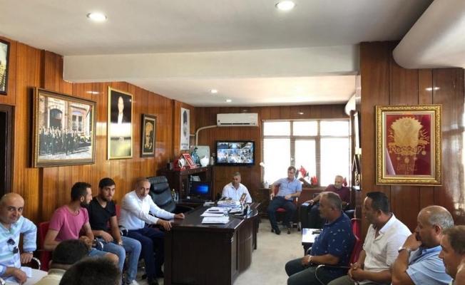 Eceabat Belediyesi'nde bayramlaşma