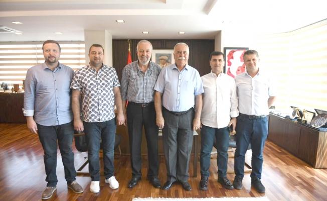 MÜSİAD'tan Başkan Gökhan'a ziyaret