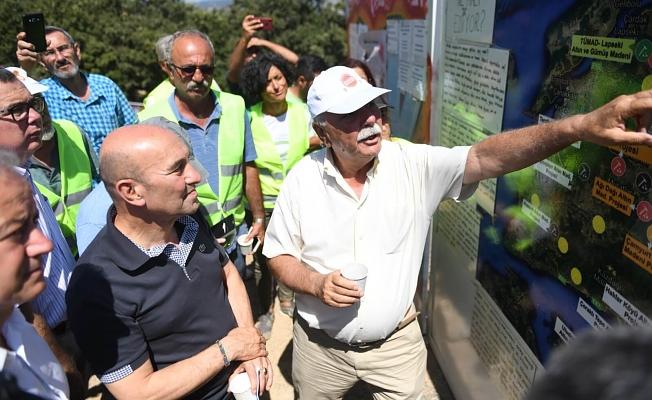 Soyer'den su ve vicdan nöbetine destek ziyareti