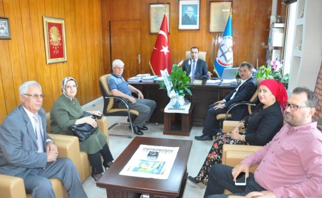 AK Parti'den Yılmaz'a ziyaret