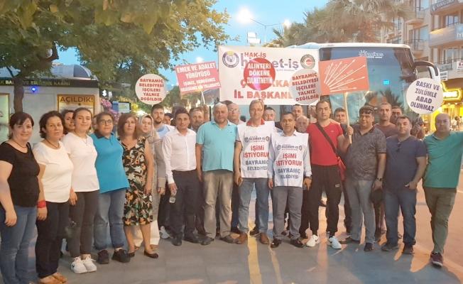 """""""Bayramiç Belediyesi'nde işçi kıyımına devam"""""""