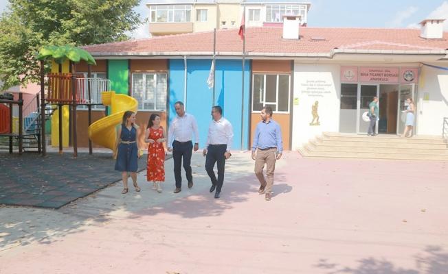 Biga'daki okullar yeni döneme hazır