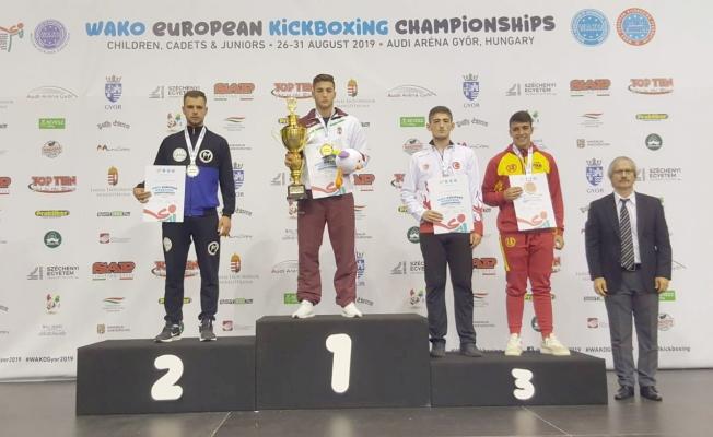 Çanakkaleli sporcu Avrupa üçüncüsü