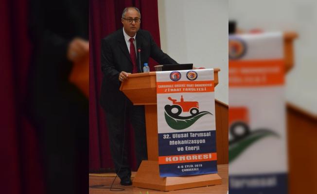 ÇOMÜ'de 32. Ulusal Tarımsal Mekanizasyon ve Enerji Kongresi