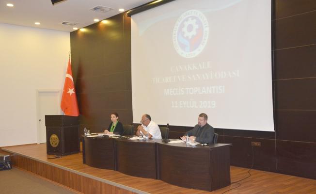 ÇTSO'da Meclis toplantısı yapıldı