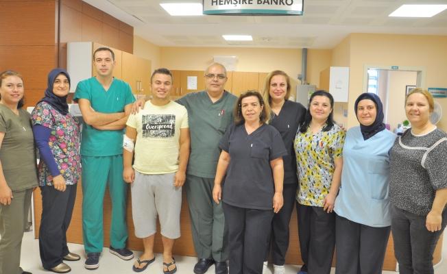 Devlet Hastanesi'nde bir ilk