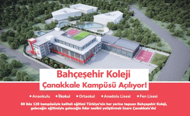 Eğitimin kaliteli adresi Bahçeşehir Koleji Çanakkale'de