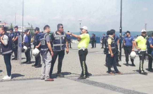 HDP'lilere Polisten Müdahale