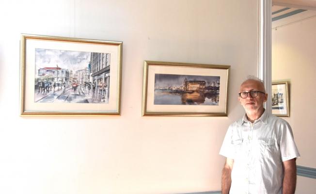 'İstanbul' resim sergisi açıldı