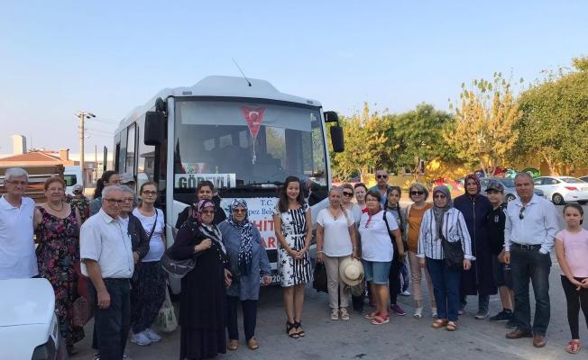 Kepez Belediyesi'nden Şehitlik gezisi