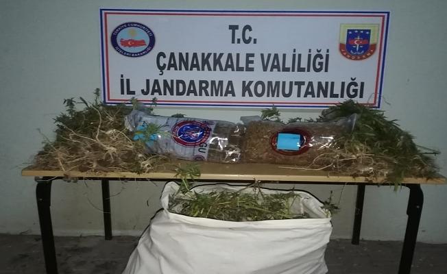 Yenice'de uyuşturucu operasyonu