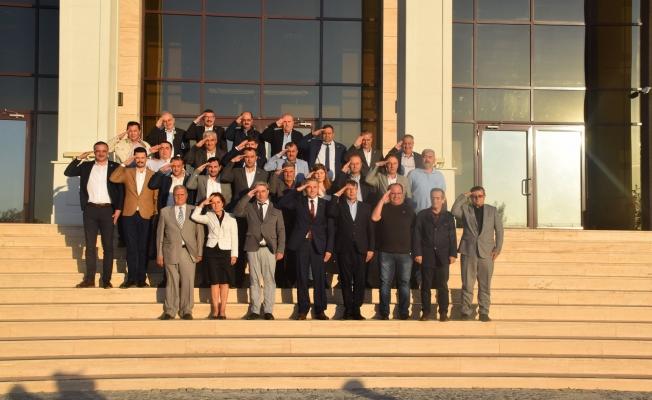 İl Genel Meclisi'nden Barış Pınarı Harekatı'na destek