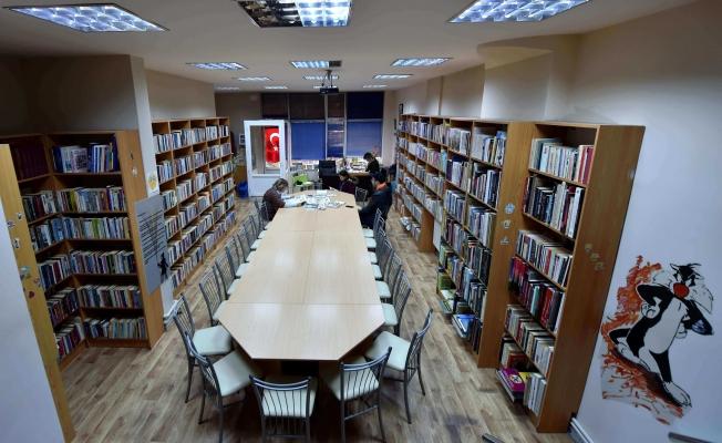 Barbaros Kütüphanesinin Çalışma Gün ve Saatleri Yenileniyor
