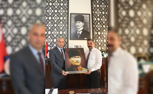 Başkan Uygun'a Kopça'dan ziyaret