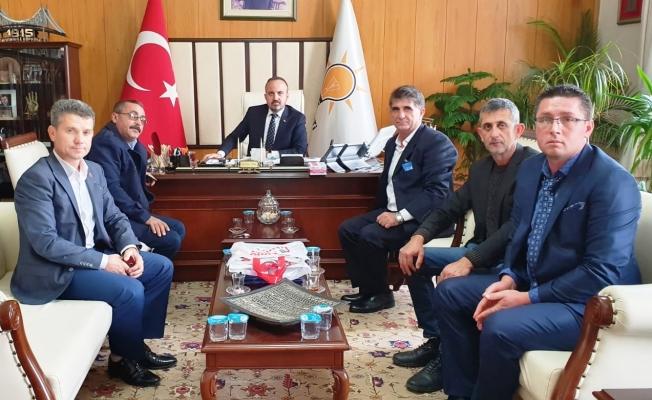 Biga'lı muhtarlar Ankara'da