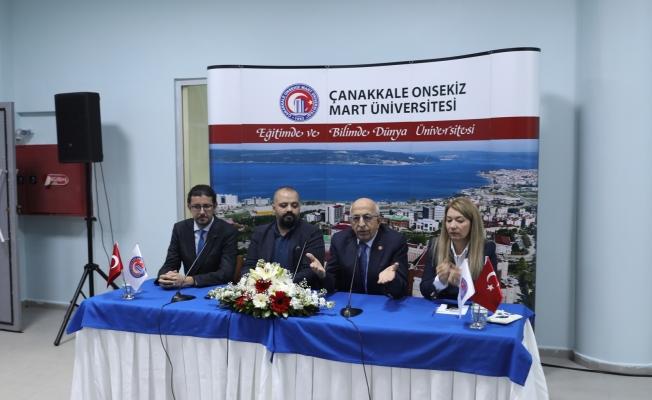 """ÇOMÜ, """"Digital Görüntü Tasarım ve Eğitim Merkezi"""" açıldı"""