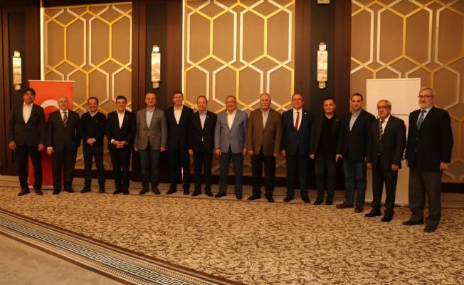 İl Belediye Başkanları Yalova'da buluştu