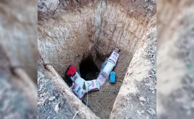 Jandarmadan izinsiz kazıya operasyon